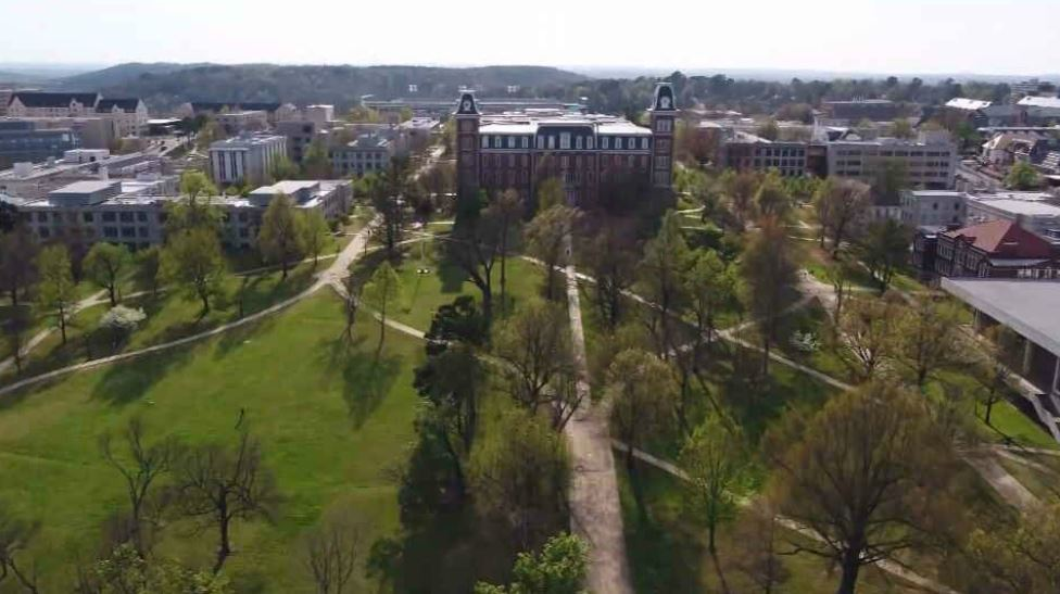 University of Arkansas suspends all on-campus events for two weeks