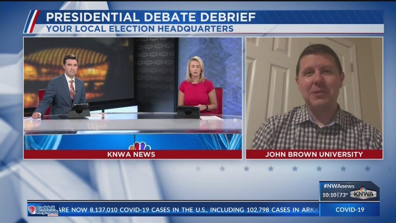 JBU professor discusses last presidential debate before election