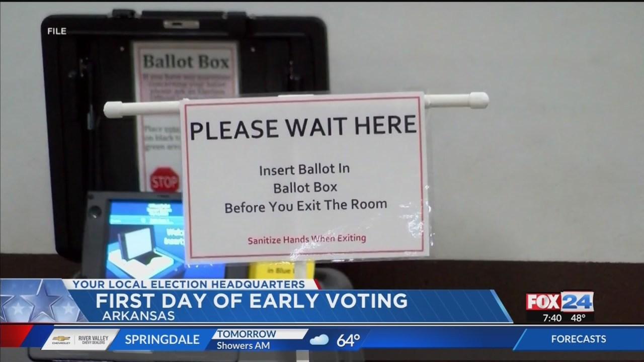 Benton County early voting: Arkansans head to the polls