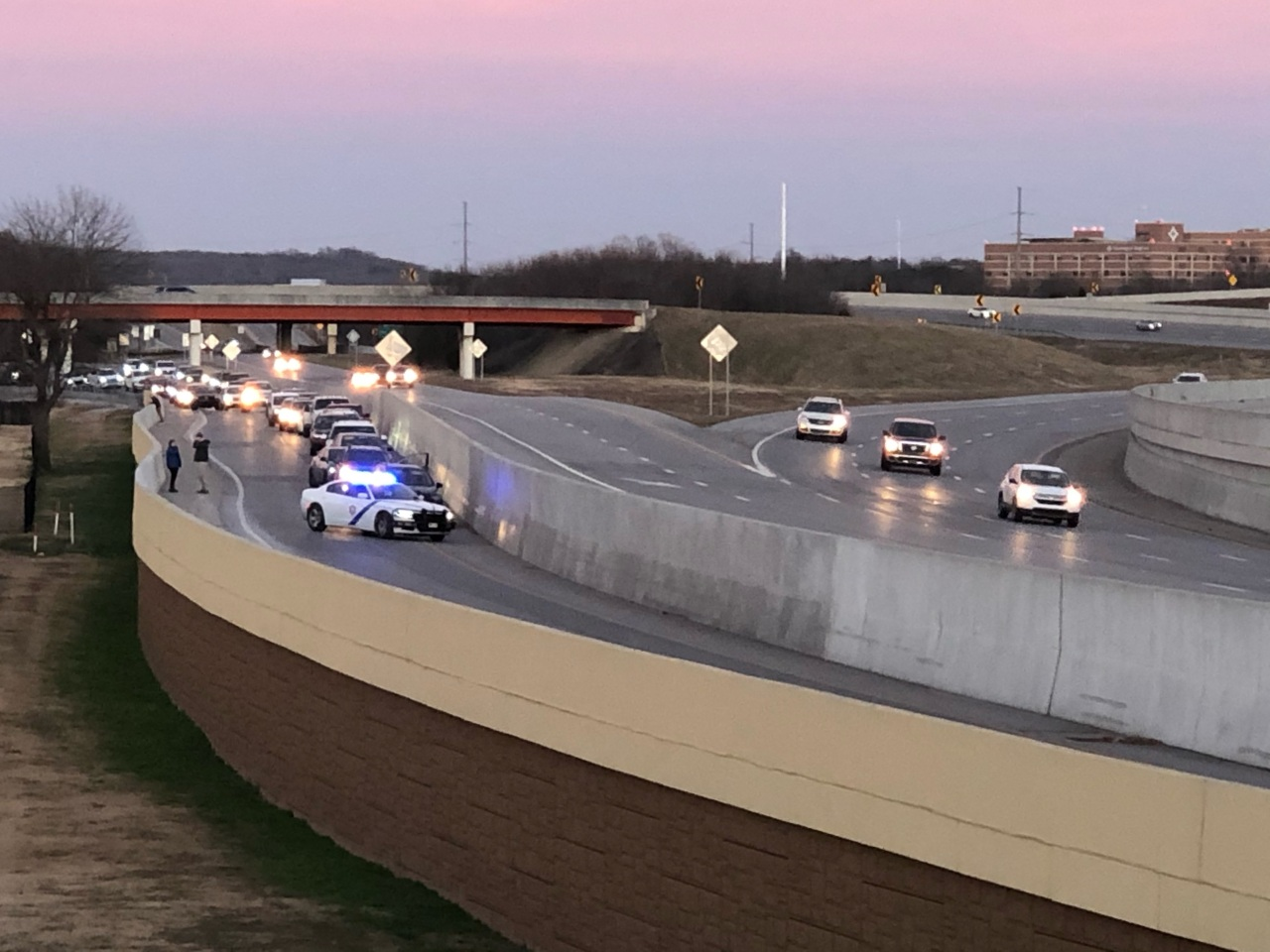 Shooting on I-49 in Fayetteville, Arkansas State Police officials say