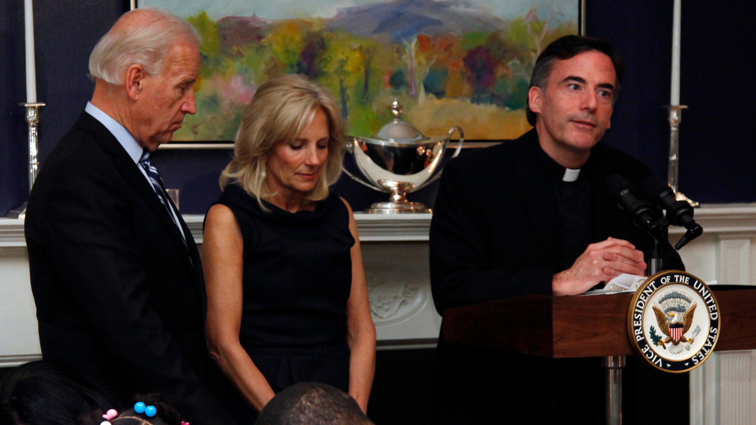 Joe Biden, Jill Biden, Anthony McDaniel, Kevin O'Brien