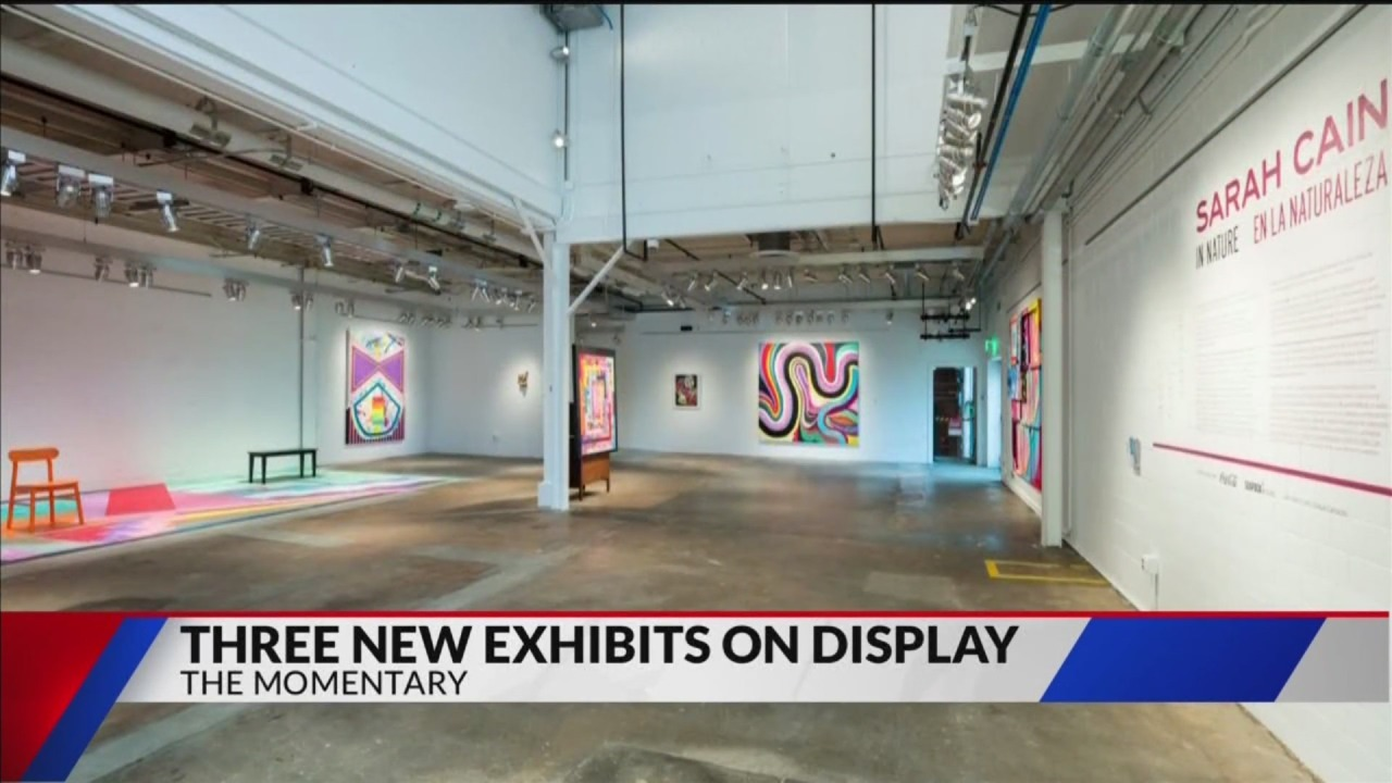 Three new exhibits on display at The Momentary