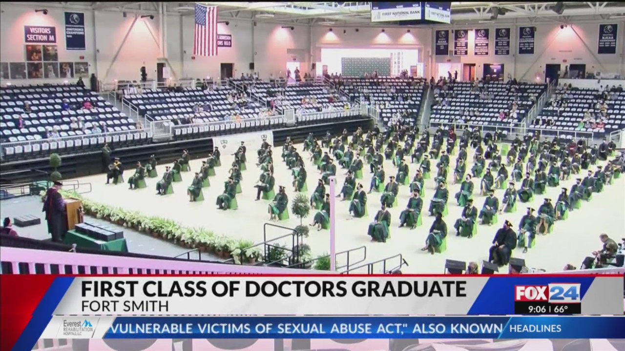 First class of doctors graduates from Arkansas Colleges of Health Education
