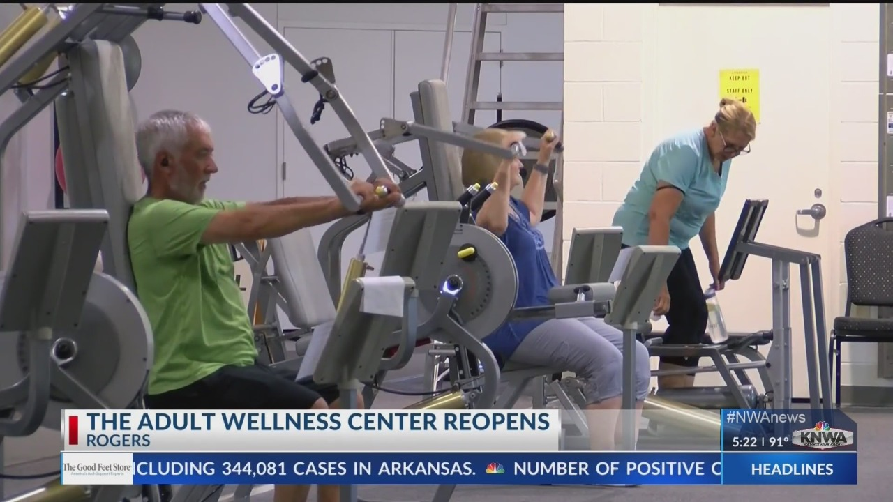Adult Wellness Center in Rogers reopens to public